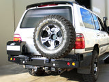 Dobinsons Rear Bumper With Swing Outs for Toyota Landcruiser 100 Series & Lexus LX470(BW80-4109)