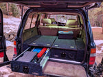 Dobinsons Rear Dual Roller Drawer System for Toyota Land Cruiser 80 Series with Fridge Slide