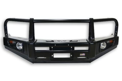 Dobinsons 4x4 Classic Black Deluxe Bull Bar for Toyota Hilux Revo N25, N26 (2015 on) (BU59-3728)