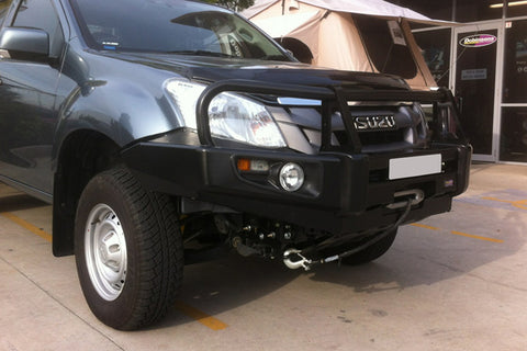 Dobinsons 4x4 Classic Black Deluxe Bullbar for Isuzu D-Max (Mid Year 2012 on) (BU21-3685)