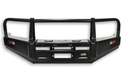 Dobinsons 4x4 Classic Black Bullbar for Toyota Land Cruiser Prado 150 Series 2009 to 2013 (Early Release Models) (BU59-3512)