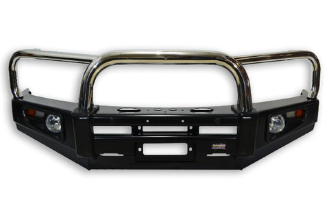 Dobinsons 4x4 Stainless Loop Deluxe Bullbar for Toyota Land Cruiser Prado 120 Series (12/2002 - 09/2009) (BU59-3661)