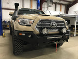 Dobinsons 4x4 Front Metal Bumper for 2016 to 2019 Toyota Tacoma 4x4 - Bare Steel