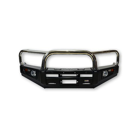 Dobinsons 4x4 Stainless Loop Deluxe Bullbar for Toyota Land Cruiser 100 & Lexus LX470 Series IFS 1998 to 2007(BU59-3658)