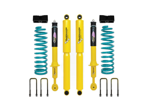 "Dobinsons 1.5""-3.5"" Suspension lift kit Twin Tube Shocks and rear Quick Ride Kit for 2012 and Up Isuzu DMax with upper isolators"
