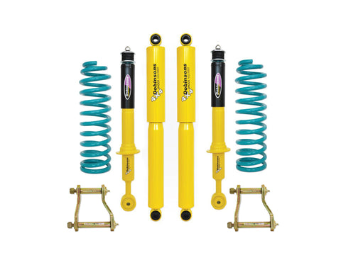 "Dobinsons 1.5""-3.5"" Suspension lift kit with rear Extended Shackles Kit for 2012 and Up Isuzu DMax with upper isolators"
