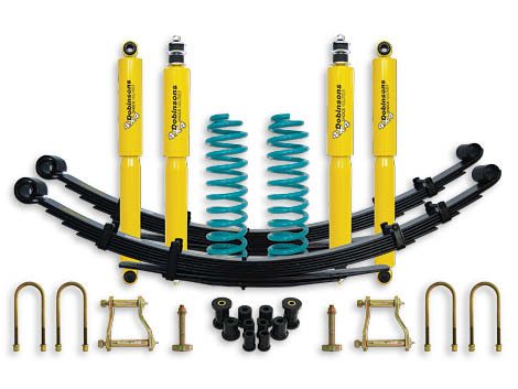 "Dobinsons 4x4 0""-1.75"" Suspension Kit for Landcruiser 78 Series - FZJ78, HZJ78 (09/1999 to 04/2007), FZJ78, HZJ78, VDJ78 V8 Diesel (04/2007 on)"