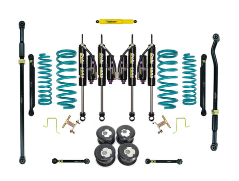 "Dobinsons 2.5-3.5"" MRR 3-way Adjustable Tapered-Series Long Travel Lift Kit for Toyota Land Cruiser 80 Series"