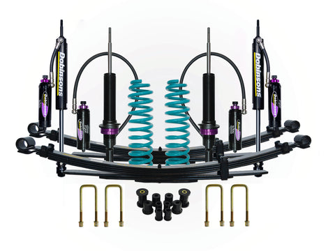 "Dobinsons 1.5"" to 3.0"" MRR 3-way Adjustable Suspension Kit for 2005 to 2020 Tacoma 4x4 Double Cabs"