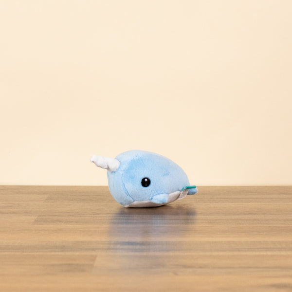 Mini Narwhali the Narwhal (Blue)