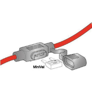 0100335 Waterproof MiniVal Fuse Holder