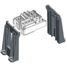 0101180 Mounting Bracket Extended for Two Gray Modules