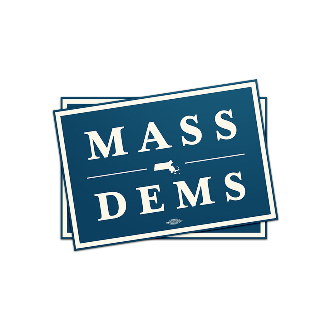 Mass Dems Sticker Pack