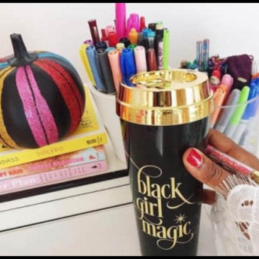 Effie's Paper - Black Girl Magic Travel Mug