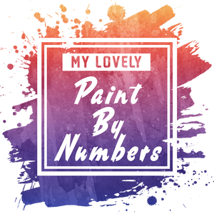 My Lovely Paint By Numbers Logo