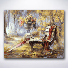 Load image into Gallery viewer, Abandoned Bench - Paint by numbers