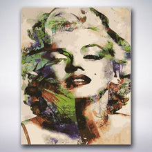 Load image into Gallery viewer, Abstract Marilyn Monroe - Paint by numbers