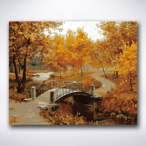 Autumn Landscape - Paint by number