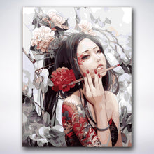 Load image into Gallery viewer, Chinese Dragon Woman - Paint by number