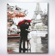 Load image into Gallery viewer, Eiffel Tower Date - Paint by number