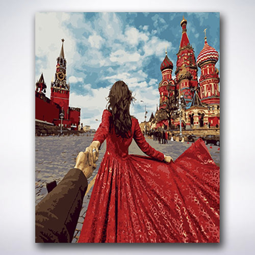 Follow Me Russia - Paint by number