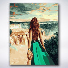 Load image into Gallery viewer, Follow Me Waterfall - Paint by number