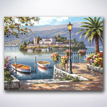 Load image into Gallery viewer, Island Village - Paint by number