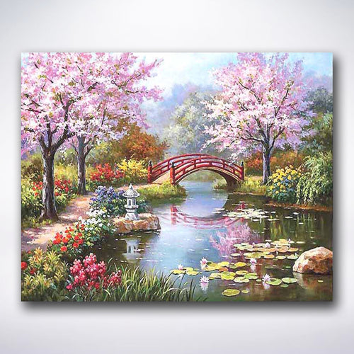 Japanese Garden - Paint by number