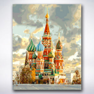 Kremlin - Paint by number