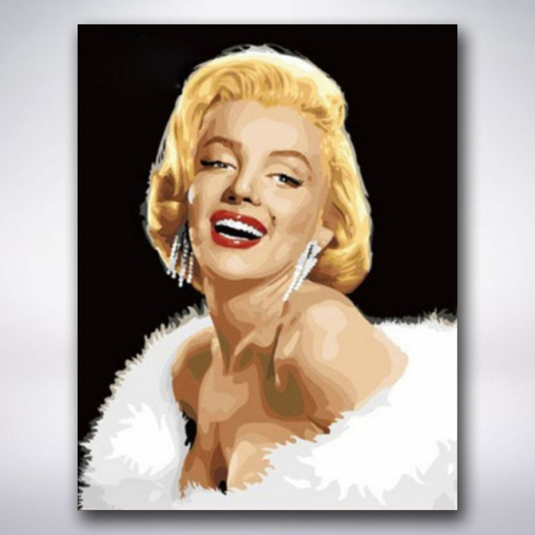 Marilyn Monroe - Paint by numbers