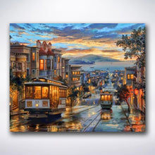Load image into Gallery viewer, San Francisco Cable Tram - Paint by number