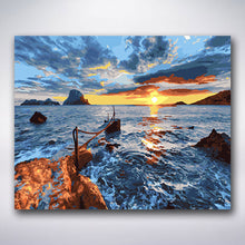 Load image into Gallery viewer, Seaside Sunset - Paint by numbers