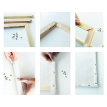 Load image into Gallery viewer, Sturdy diy wood frame assembly instruction