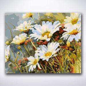 Sunny Daisies - Paint by number
