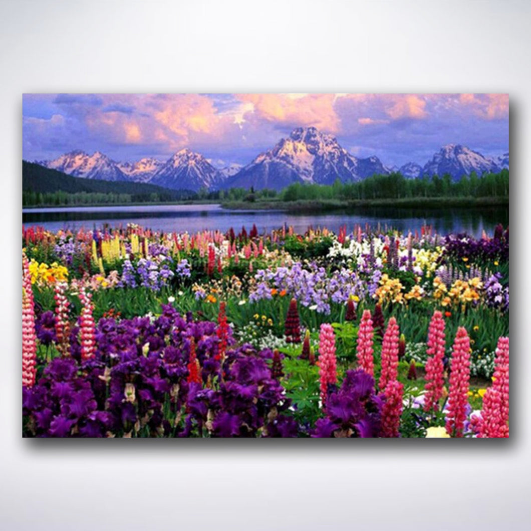 Valley Flowers - Paint by number