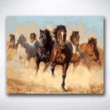 Load image into Gallery viewer, Wild Horses - Paint by number