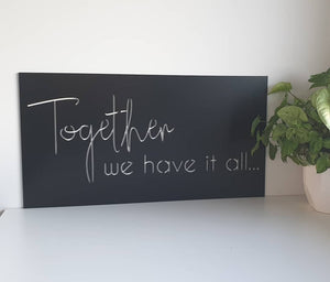 Together Signage