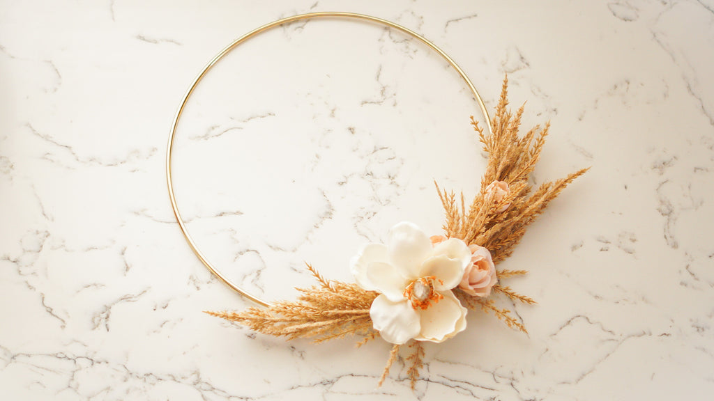 Willa -10inch Hoop Wreath