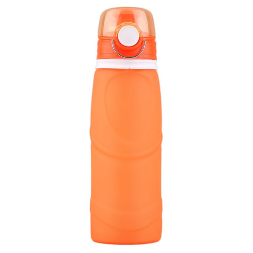 Silicone Folding Sports 750ML Water Bottle