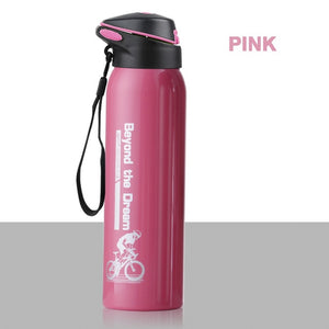 Stainless Steel Bike Water Bottle