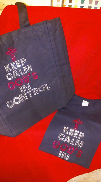 Keep Calm God's In Control