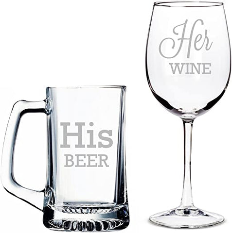 AYO Wine and Beer Mug Set (2pcs)