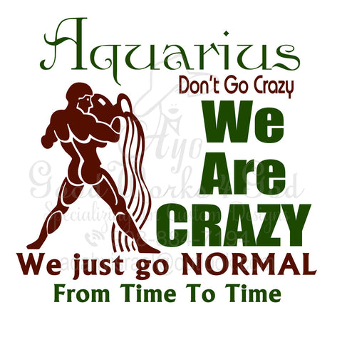 We ARE Crazy Zodiac T-shirts