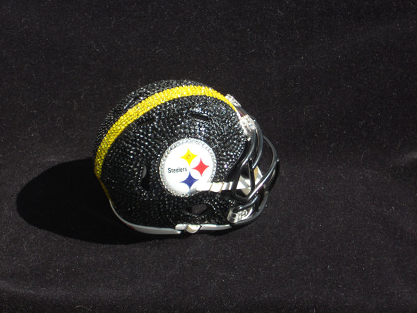 Rhinestone Miniature Football Team Helmets