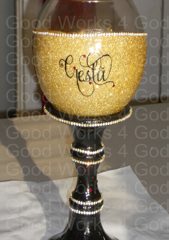 AYO Customized Chalice or Goblet Glass