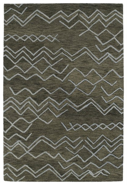 Moroccan Zag - Hand Tufted 100% Wool Rug