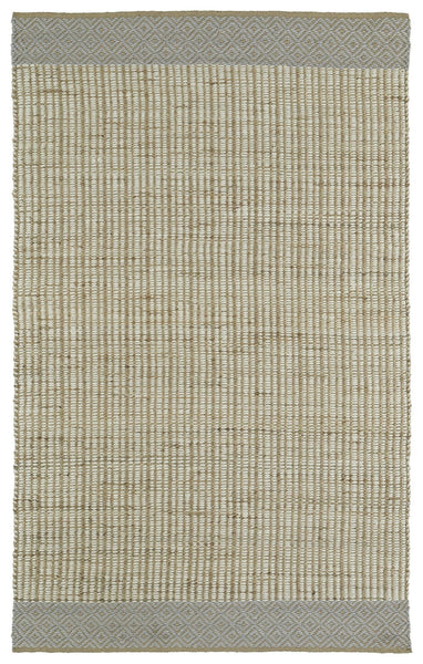 Twist Of Nature  Reversible Rug - Wool And Jute