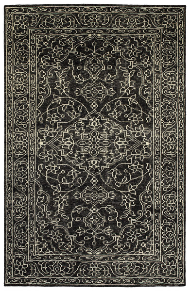 Heartland Grey - Hand Knotted 100% Wool Rug