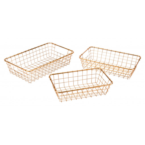 Gold Baskets