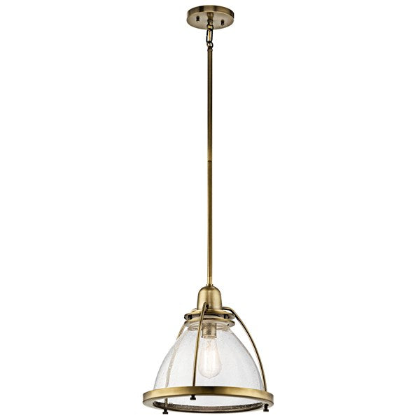 Silberne 1 Light Pendant